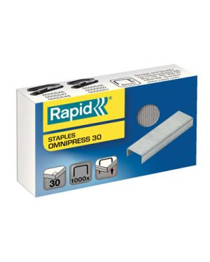 Punti rapid omnipress 30 pz.1000 RAPID 5000559 4051661018848 5000559