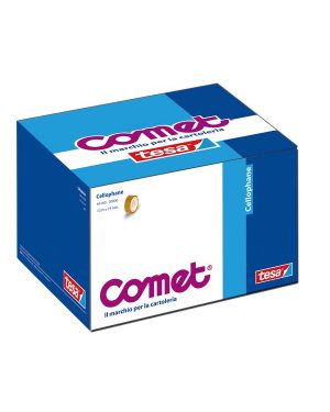Nastro adesivo 10mtx19mm cello 64-160 comet 64160-00028-01 4042448835093 64160-00028-01 by Comet