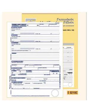 Blocco form.ident.rifiuti 25x4r EdiPro 0210C 8023328021016 0210C