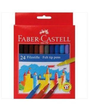 Pennarelli fiesta jumbosottile Faber Castell 153024A 8033373551123 153024A