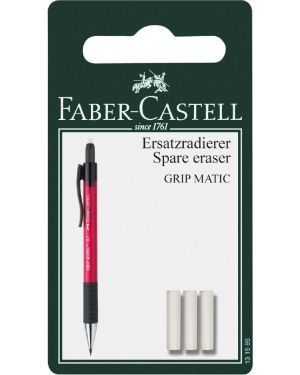 Blister 3 gommini x portamine grip Faber Castell 131595 4005401315957 131595 by No