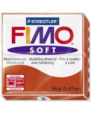 FIMO SOFT 57 G ROSSO INDIGO 8020-24