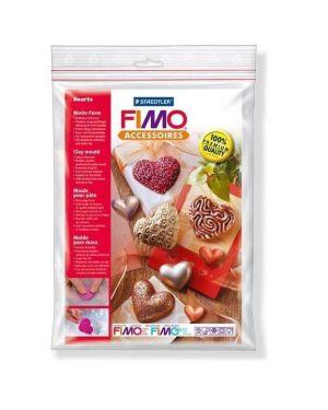 """Stampo a tema """" Cuori"""" Fimo Cod.8742-26 4007817874073 8742-26 by Fimo"""