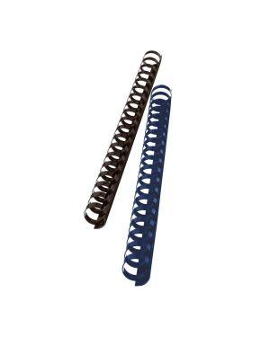 Dorsi plastici 25mm blu GBC 4028242 33816097544 4028242