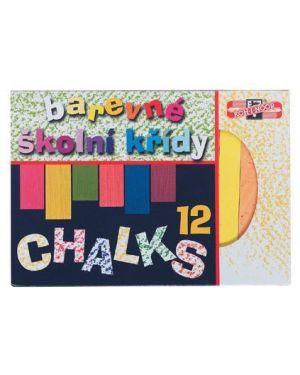 Gessetti lavagna chalks 12x12mm Koh-I-Noor H112506 8593540000170 H112506