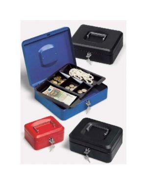 Cassetta metallo 30x24x9 cm blu Lebez 065-BL 8007509041505 065-BL by Lebez