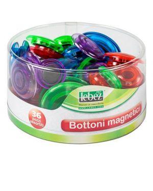 Baratt. bottoni magnetici fluo Lebez 80527 8007509075586 80527