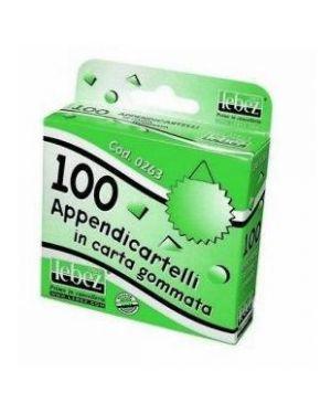 Cf100 appendicartelli gommati - 0263b 0263B by Lebez