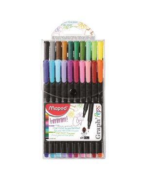 Graph peps fineliner  x20 - in Maped 749151 3154147491515 749151