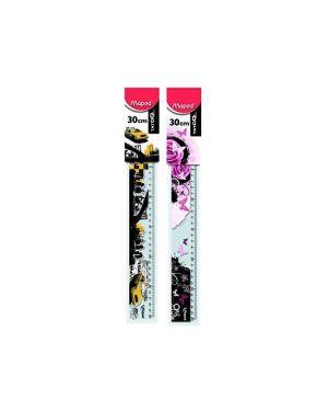 Righello tatoo 30cm - plastic bag Maped 251710 3154142517104 251710