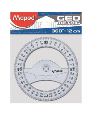 Goniometro 360 gradi technic Maped 242360 3154142423603 242360 by Maped