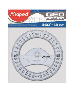 Goniometro 360 gradi technic Maped 242360 3154142423603 242360