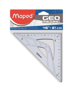 Squadra geometric 21cm   45° 242421