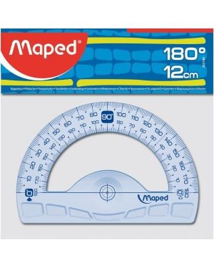 Goniometro geometric 180°  -  12 cm Maped 242180 3154142421807 242180 by Maped