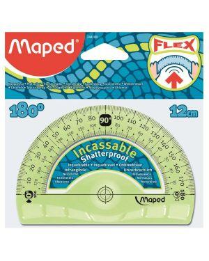 Goniometro cm12 180° infrangi Maped 244180 3154142441805 244180 by Maped