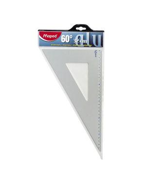 Squadra 32 cm 60°  alluminio Maped 100089 8006781000897 100089