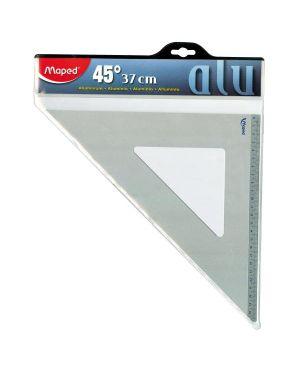 Squadra 37 cm 45°  alluminio Maped 100090 8006781000903 100090