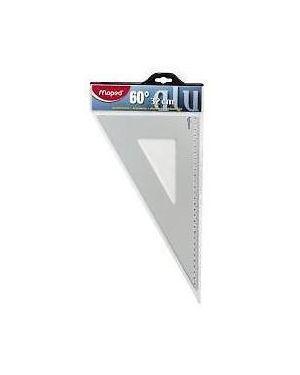 Squadra 37 cm 60°  alluminio Maped 100091 8006781000910 100091