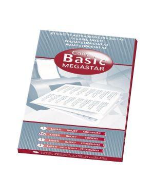 etichette 37 5x23 5 Megastar LP4MS-3723 8007827290142 LP4MS-3723