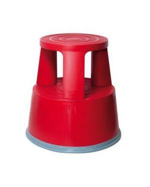 Sgabello plastica markin t7 rosso 380T7RO