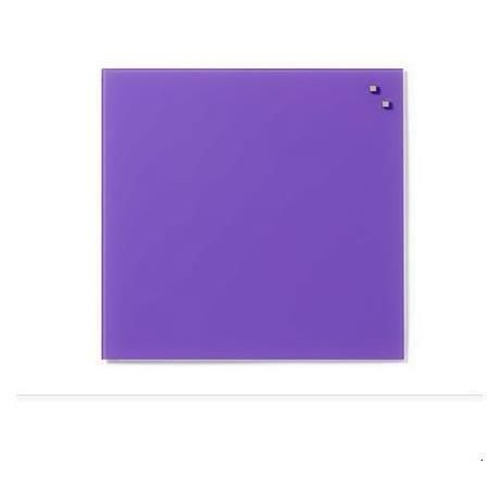 Lavagna magnetica vetro lilla - Glassboard 45x45 GB10773 by No