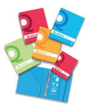 Quaderno quablock  a4 - 4 anelli Pigna 006230630S 8005235212572 006230630S