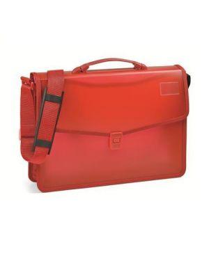 Cartella in pp c - bordo rosso Niji 60865 8002787608655 60865