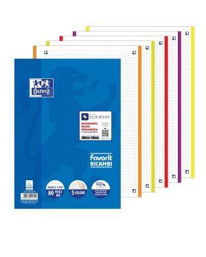 Ricambi 5 colori 80ff a4 90gr 5mm - Ricambi 5 colori 400108158