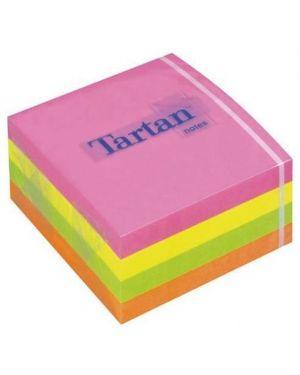 Cubo tartan neon 4 colori 76x76 Post-it 8673 3134375457958 8673 by Post-it