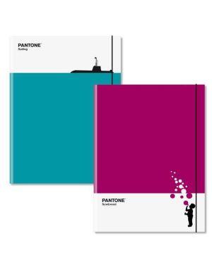 Cartella elastico 3l a4 colori ass Pantone P300539 8013075018285 P300539