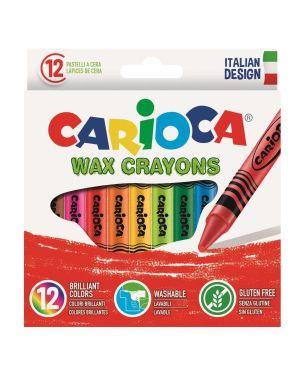 pastelli cera ass.ti Carioca 42365 8003511423650 42365