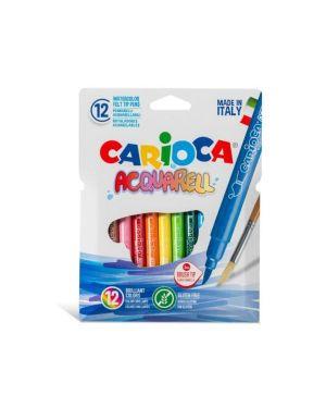 pennarello acquarel assortiti Carioca 42747 8003511427474 42747