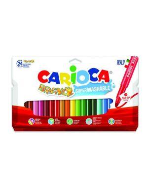 pennarello bravo assortiti Carioca 42763 8003511427634 42763