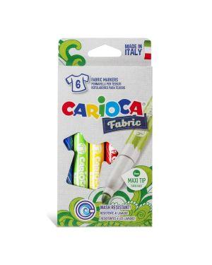 Pennarelli carioca fabric per tessuto pz.6 CARIOCA 40956 8003511409562 40956 by No