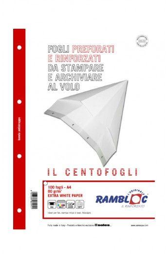 Risma rambloc centofogli a4 4fori Rambloc 90506995 8023485069951 90506995 by Rambloc