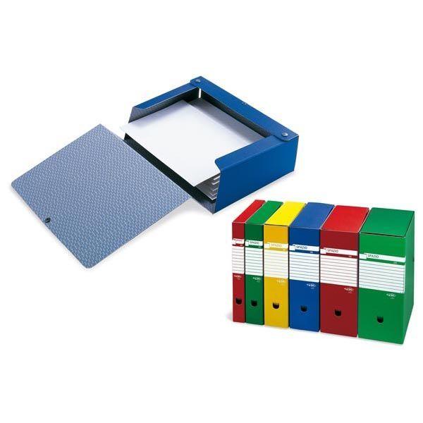 Scatola archivio dorso 120mm blu Sei rota 67312007 8004972010977