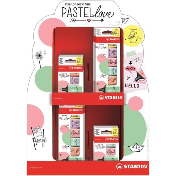 Espo 72stabilo boss mini pastellove Stabilo 07/72-07 4006381514583 07/72-07 by Stabilo