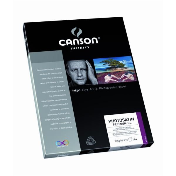 Carta fotphotosatin a4 270g Canson Infinity 206231009  206231009 by No