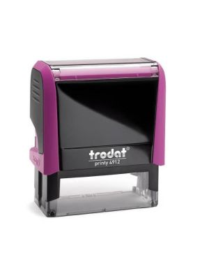 Timbro autoinch. printy 4912 fucsia - Printy 4912 4.0 43173