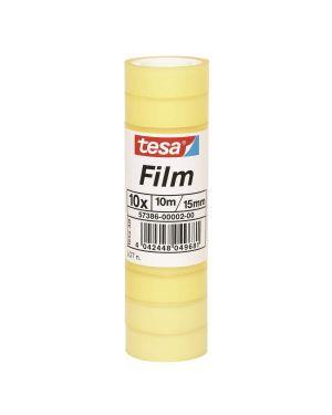 Cf10rotoli tesafilm stand. 15mmx10m 57386-00002-00