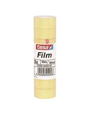 Cf8rotoli tesafilm stand. 19mmx10m 57206-00001-00