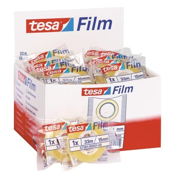 Nastro ades trasp 15mmx33m Tesa 57381-00001-00 4042448053954 57381-00001-00 by Tesa