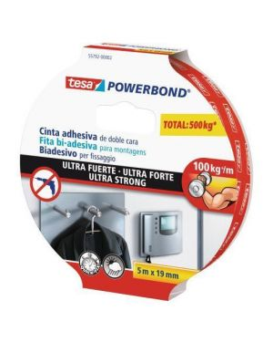 Nastro powerbond ultrastrong 19x5 Tesa 55792-00002-01 4042448217431 55792-00002-01 by Tesa