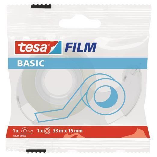 Tesabasic 15x33m in flawpack Tesa 58549-00000-00 4042448262356 58549-00000-00 by Tesa