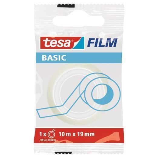 Tesabasic 19x10m Tesa 58543-00000-00 4042448262318 58543-00000-00 by Tesa