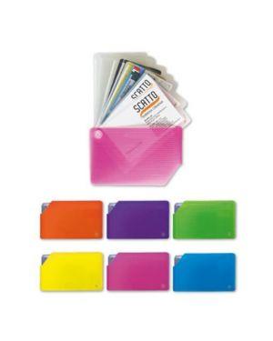 Porta card 10 tasche rigato col.ass Scatto 319-ASS 8027217931905 319-ASS by No