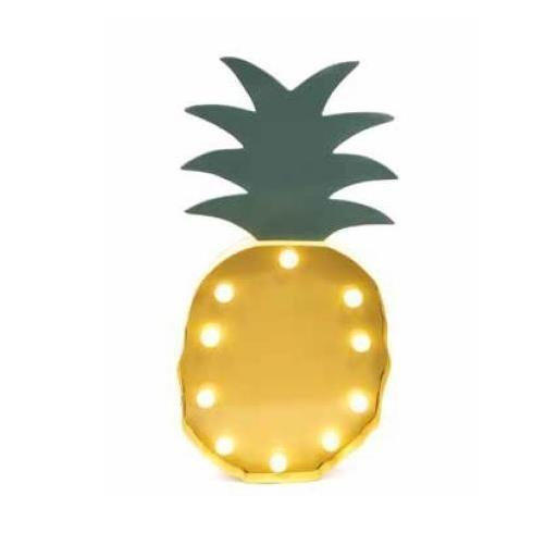 Lampada led in ferro 58cm ananas Scatto 2712-C 8027217014202 2712-C by No