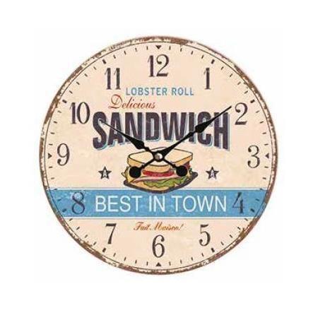 Orologio da muro sandwich  34cm Scatto 2713-L 8027217013960 2713-L by No