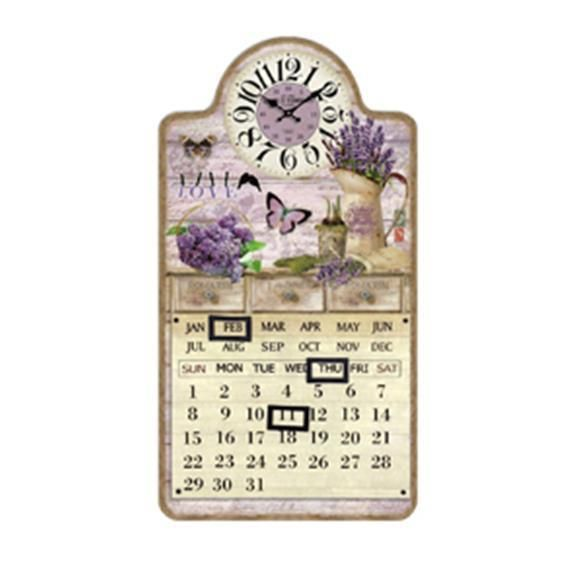 Orologio 24.5 46 4.5 cm lavanda Scatto 2631-B 8027217123409 2631-B by No