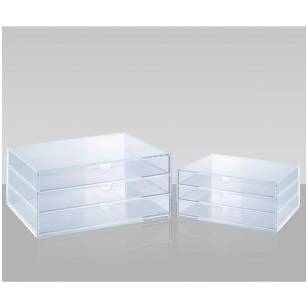 Cassettiera acrilico 3 cassetti  a5 Tecnostyl ACRD041 8010026009286 ACRD041 by Tecnostyl
